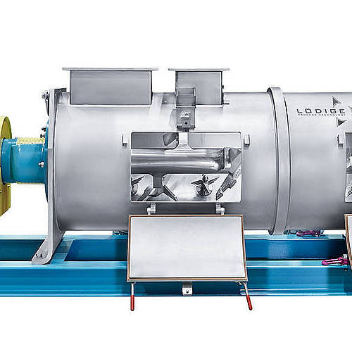 Ploughshare® mixers for continuous operation