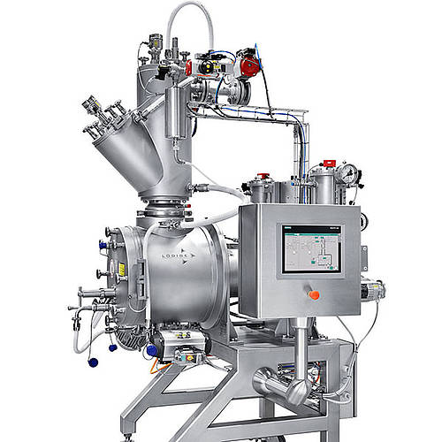 Vacuum shovel dryer DRUVATHERM® (Lab machine)